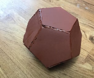 Cardboard Dodecahedron