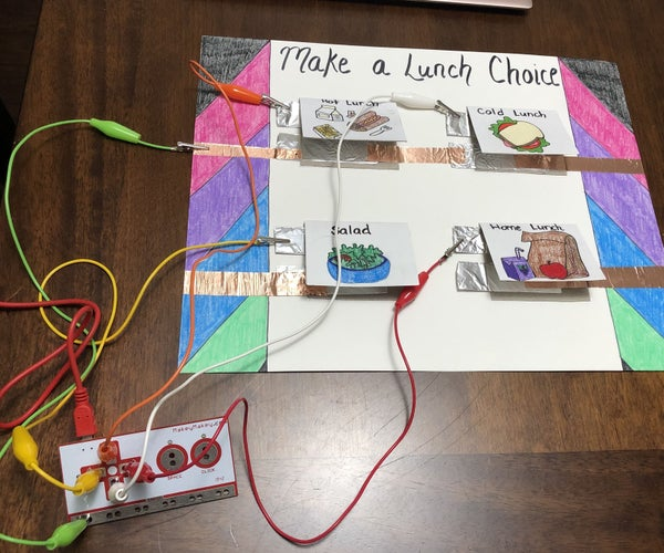 Makey Makey Lunch Choices