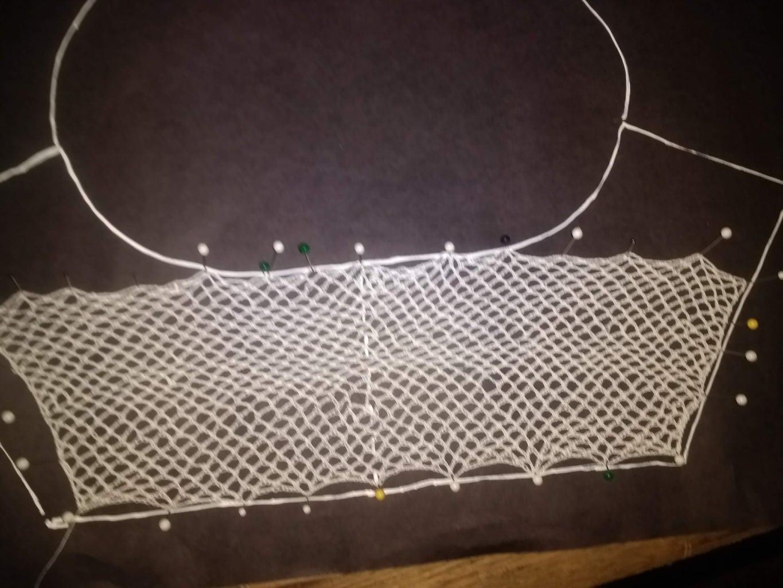 Step 4) Creating a Netting (Crochet)