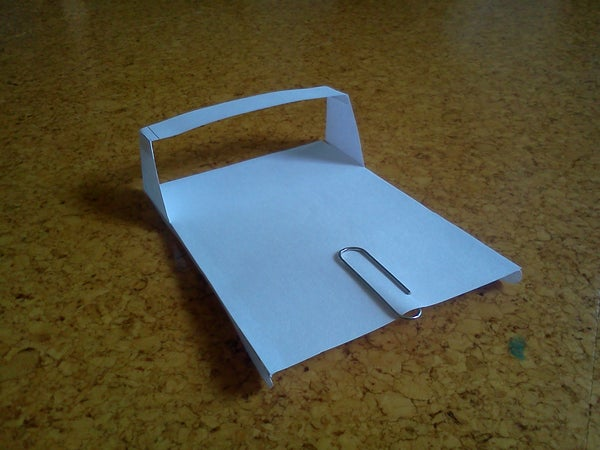 Paper Ground Effect Vehicle #2