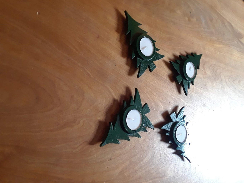 Christmas Tree Candles!
