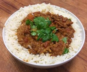 Vegan Curry Mealprep