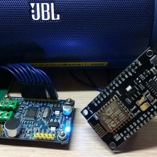 Wifi Webradio With ESP8266 and VS1053 (KaraDio)