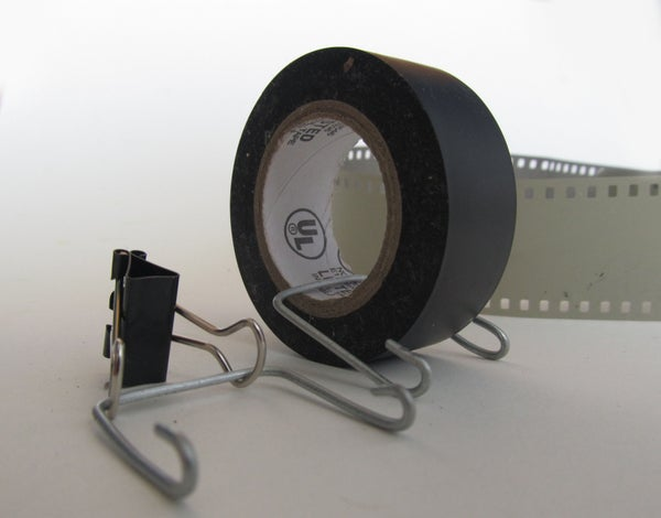 How to Develop Film: Drying Clips