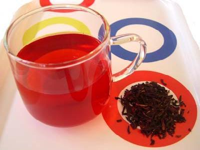 BISSAP JUICE ( Iced Hibiscus Tea)