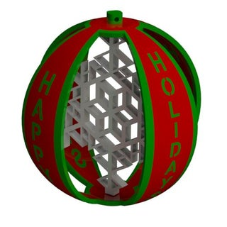 Happy Holidays Ornament Full Assembly (Red and Green).JPG