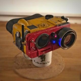 Scratch Build Homage.  Bladerunner 2049 Binoculars