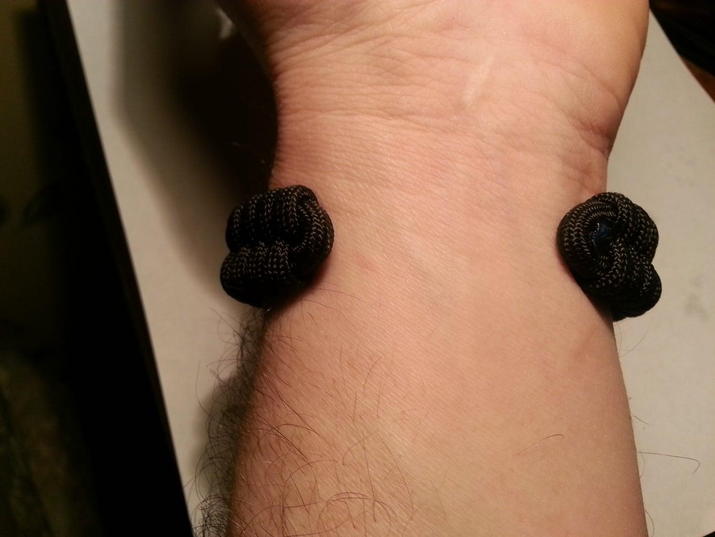 Paracord Bracelet No Closure