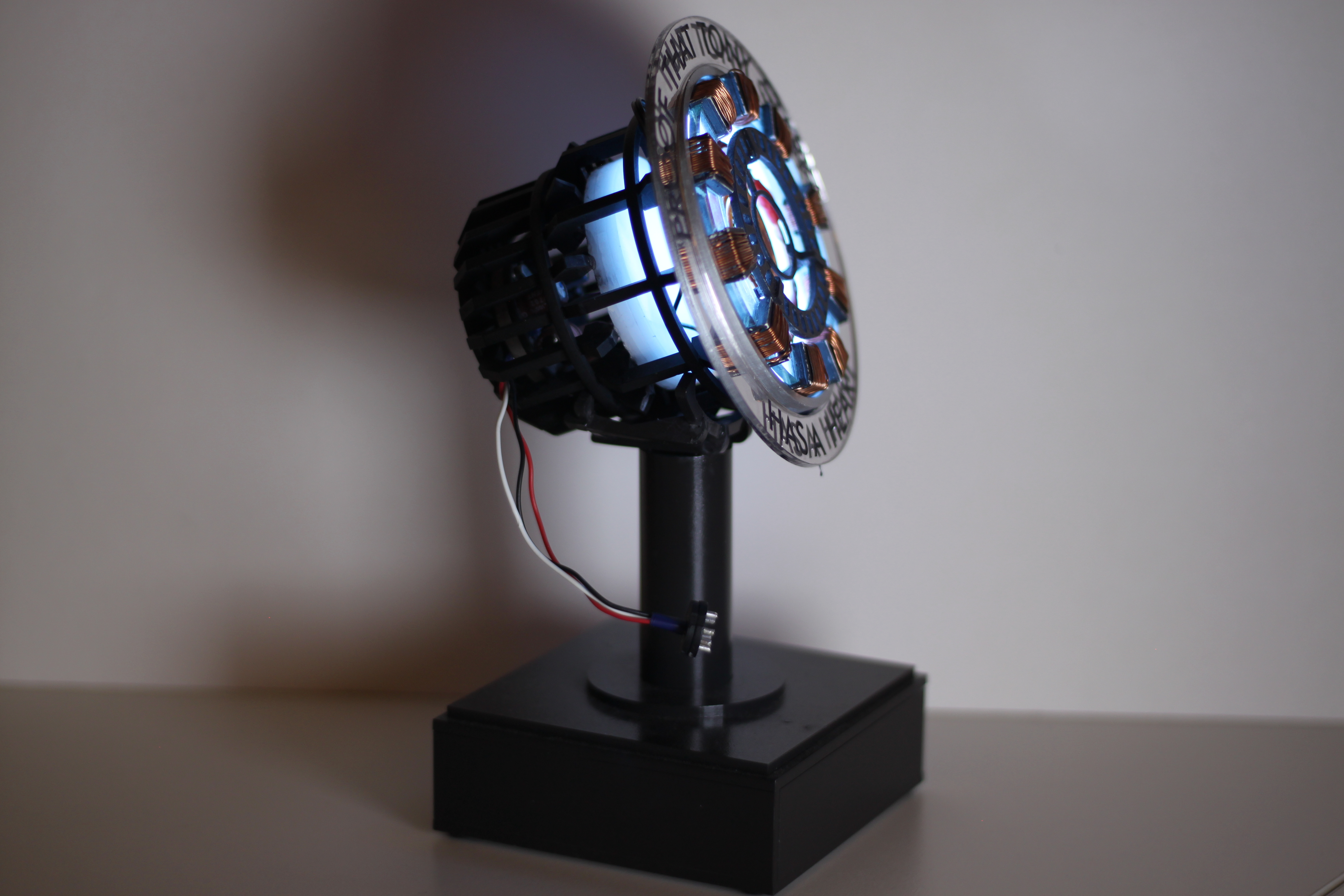 Tony Starks Iron Man Arc Reactor. I Have Loved Iron Man (even Before The  Movies Came Out)