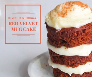 Red Velvet Mug Cake (Made in the Microwave!)