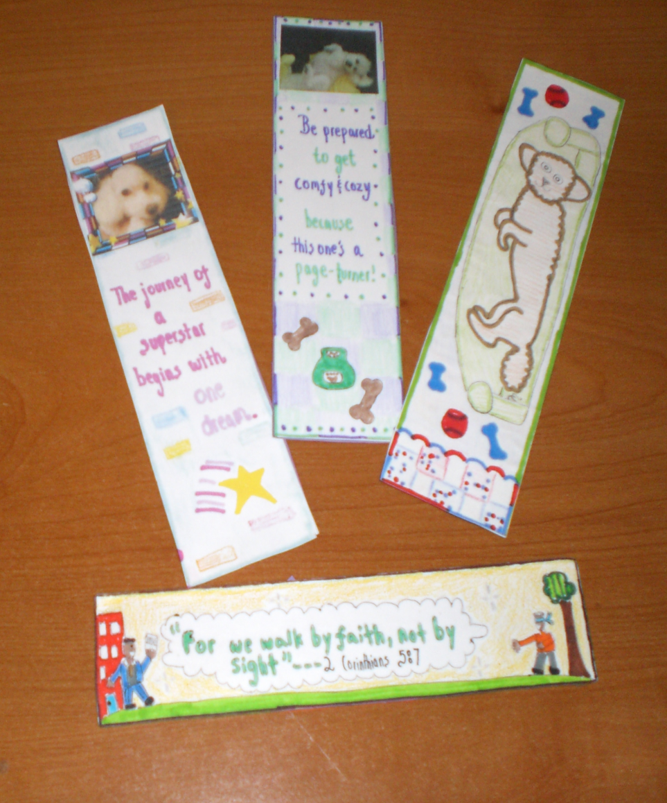 Create-Your-Own Bookmark