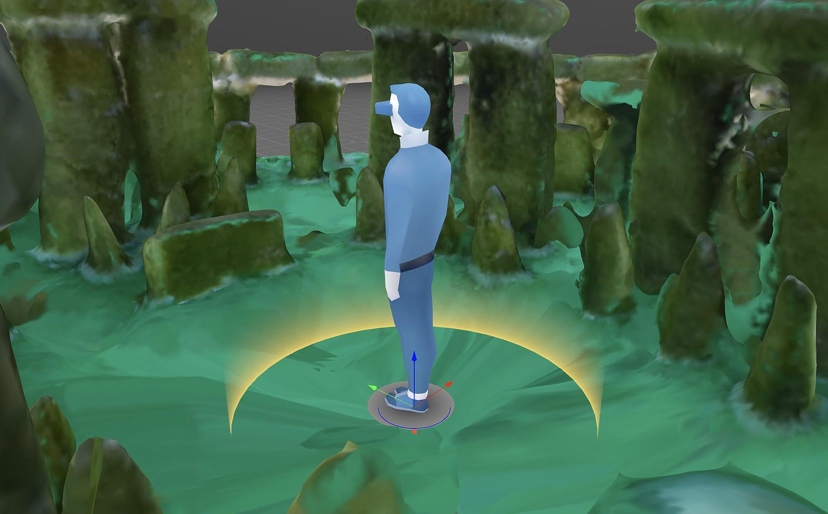 Stonehenge Pastiera Pie - 3D and Immersive View