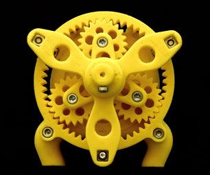 3D Printed Water Motor