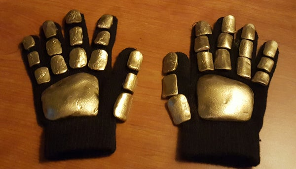 Quick & Cheap Daft Punk Gloves