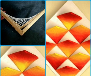 Curved Surface Made Using Straight Lines