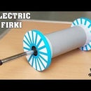 How to Make an Electric Firki / Charkhi for Kite Festival