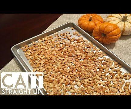 Roasted Chili Pumpkin Seeds Recipe