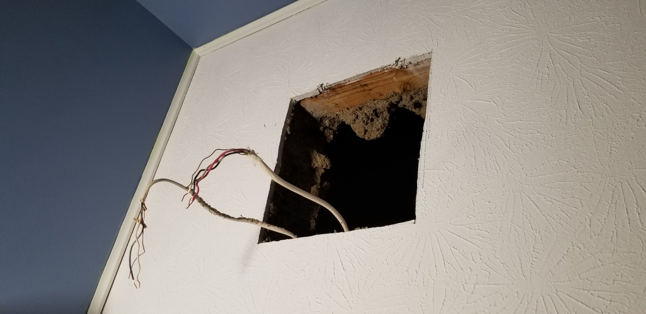 Remove Your Old Fan and Cut Your Hole