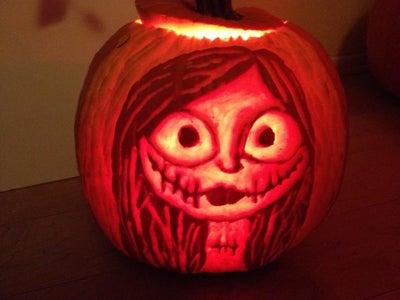 Sally - Nightmare Before Christmas Pumpkin Edition