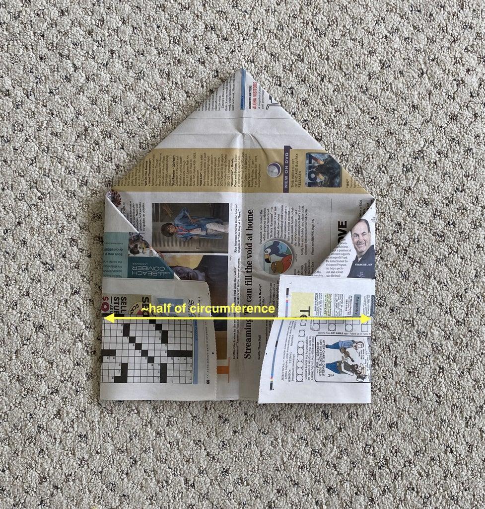 Flip & Fold to Center