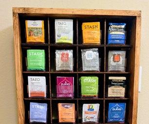 Custom Tea Organizer