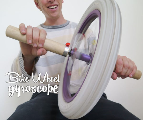 Bike Wheel Gyroscope