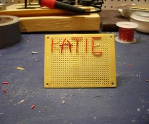 Circuit Board Nameplate