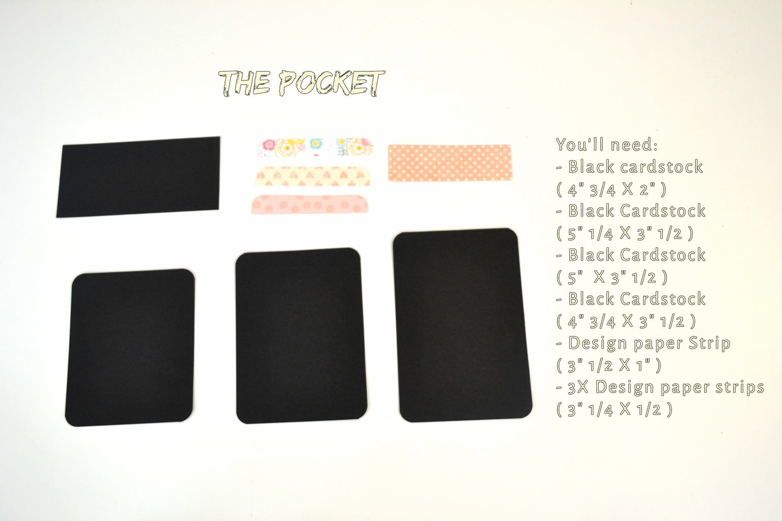Making the Pocket: Dimensions