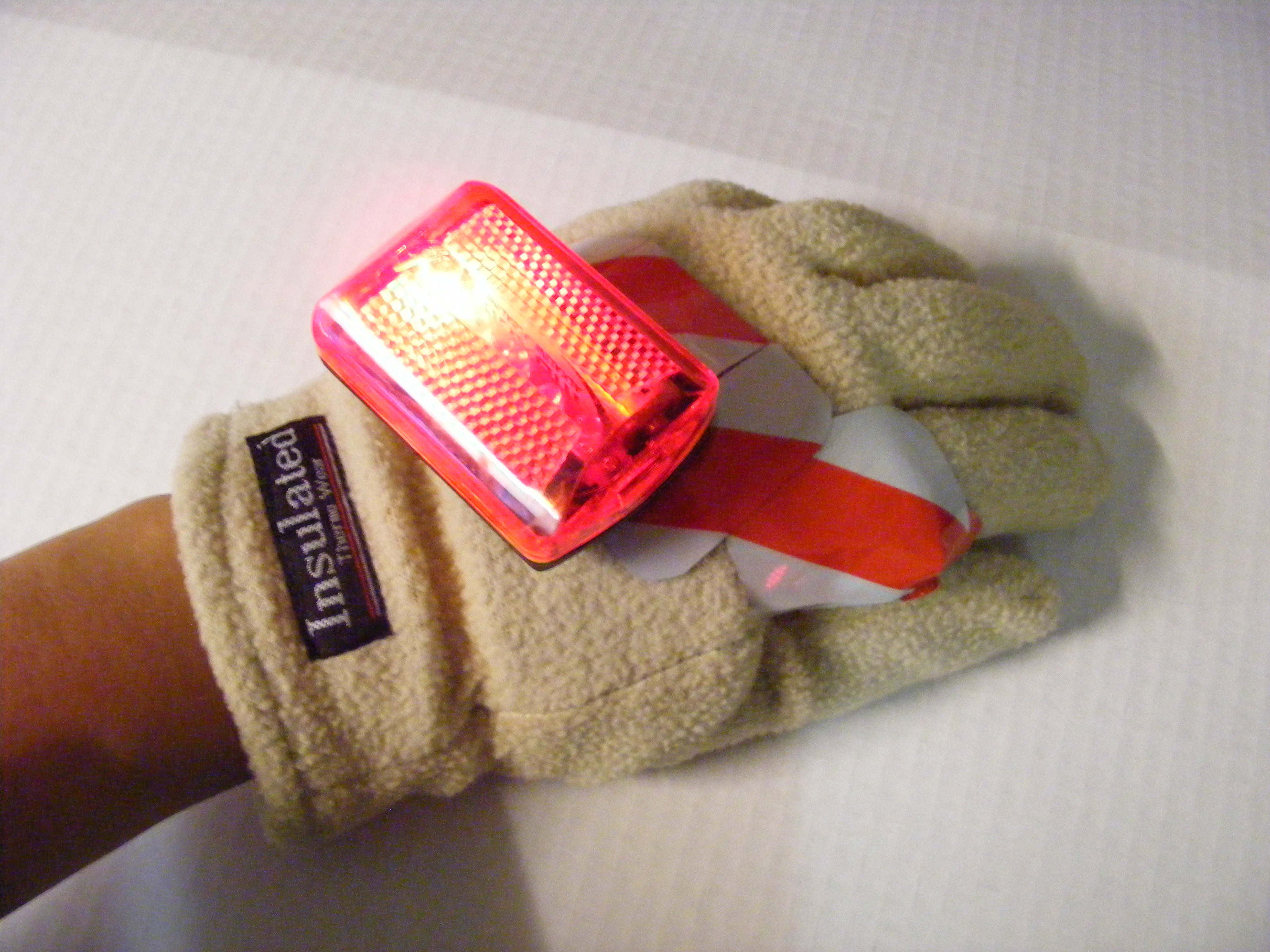 Adrian monk Disneytopian Blinking Hand of Righteousness (Turn Signal Glove)