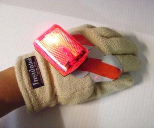 Adrian Monk Disneytopian Blinking Hand of Righteousness (Turn Signal Glove)