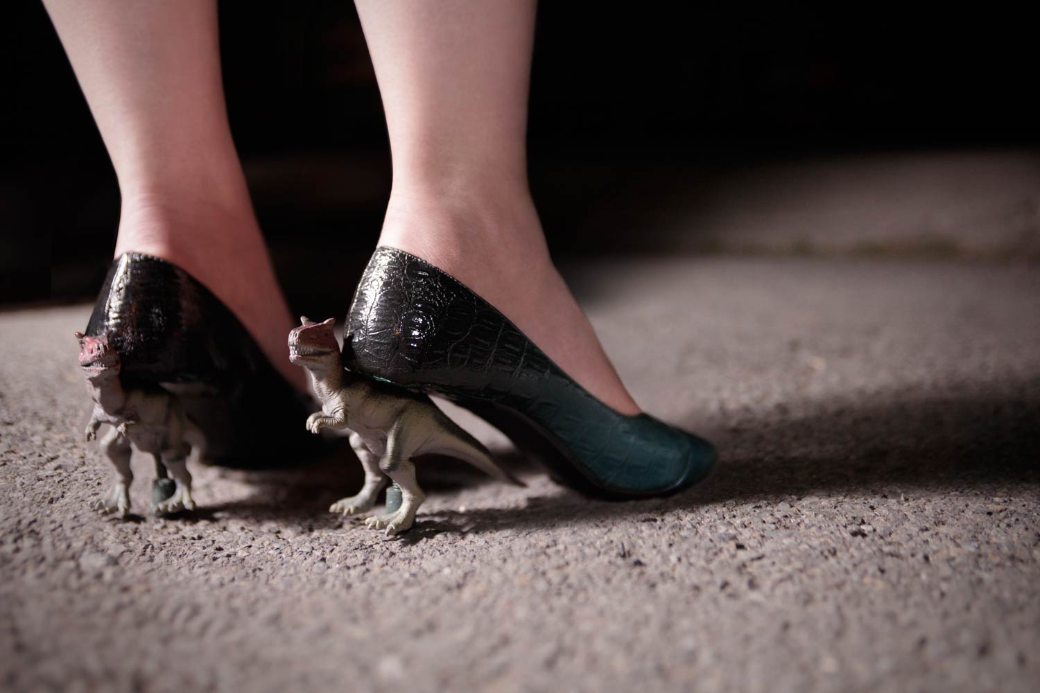 Featured Instructable: Dinosaur Heels