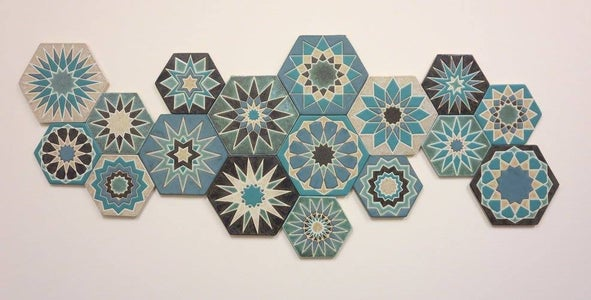 Tape Times Two: Tile Tutorial