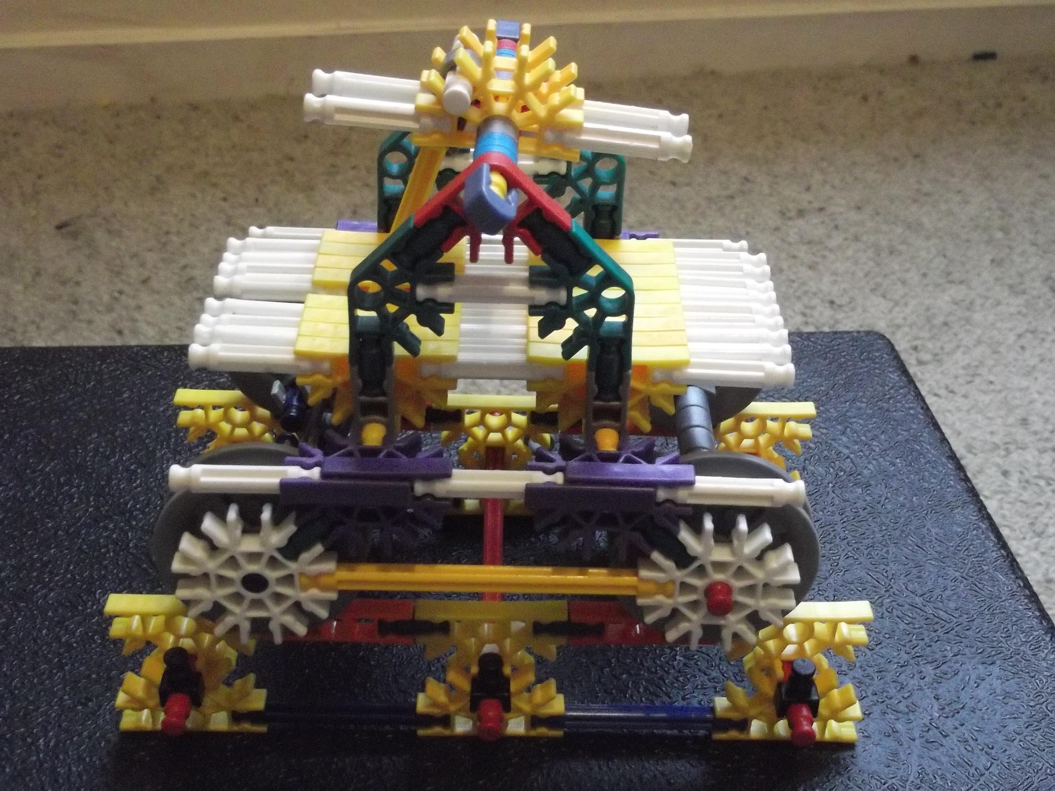 Knex Rail Car and Track