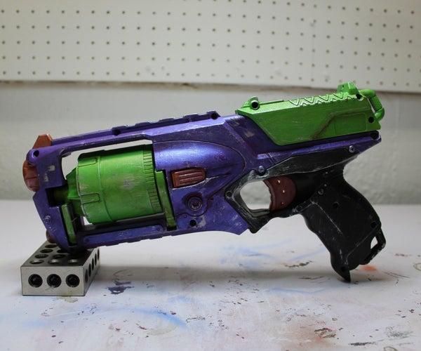 Nerf Gun Mod - Neon Genesis Evangelion Repaint
