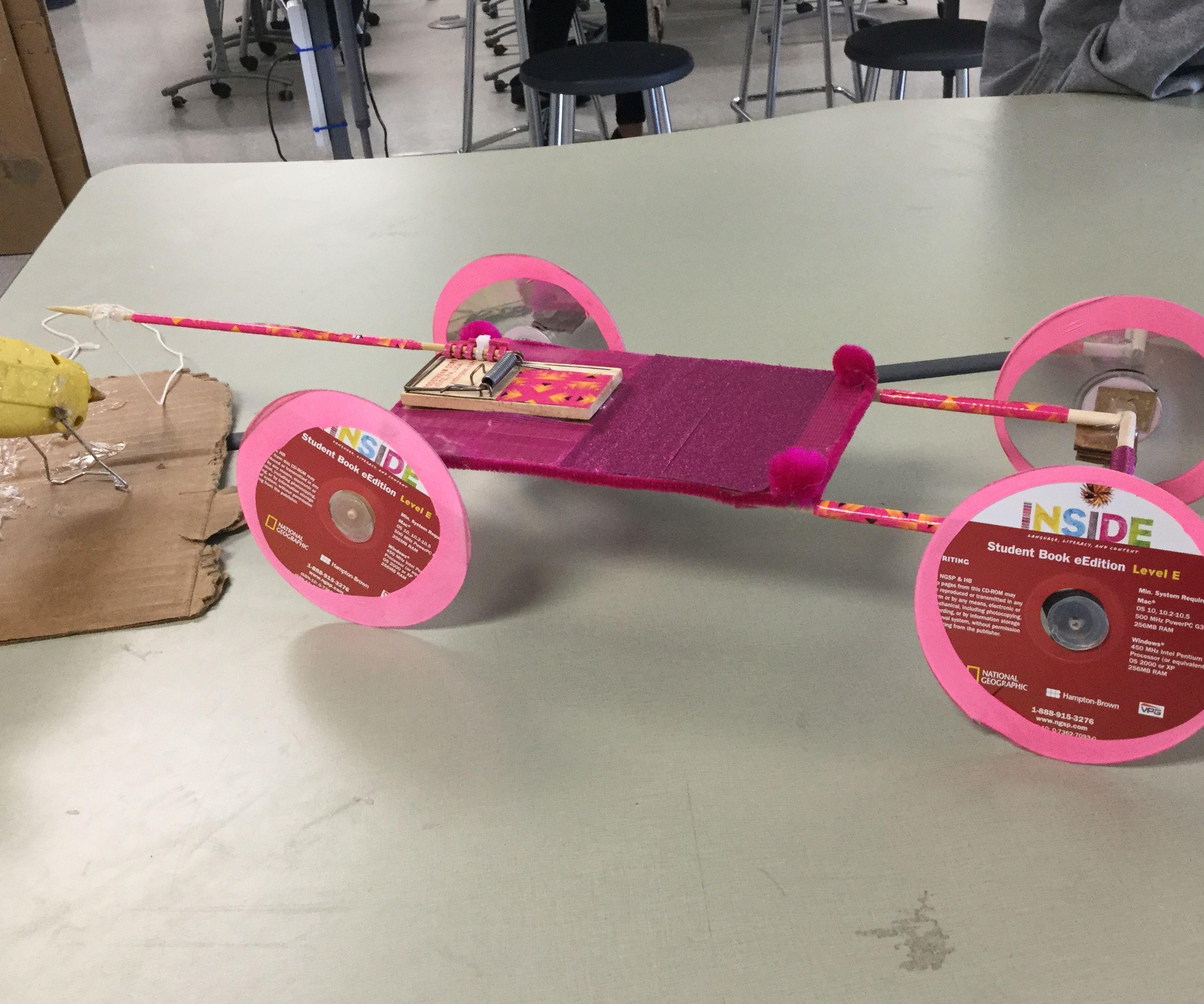 Building a Car Out of a Mousetrap