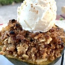 Sweet & Savory Stuffed Acorn Squash Dessert {Not My Mother's Stuffed Acorn Squash}