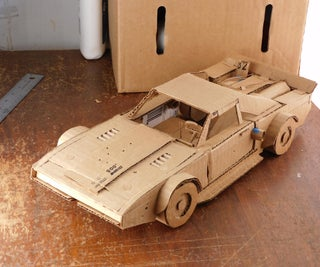 """How to Make a Cardboard Replica """"Dom's Ice Charger"""""""