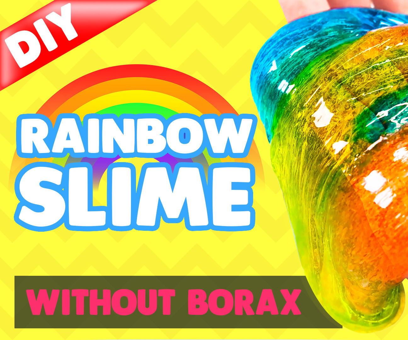 DIY How to Make Rainbow Jelly Slime - Jelly Monster Slime