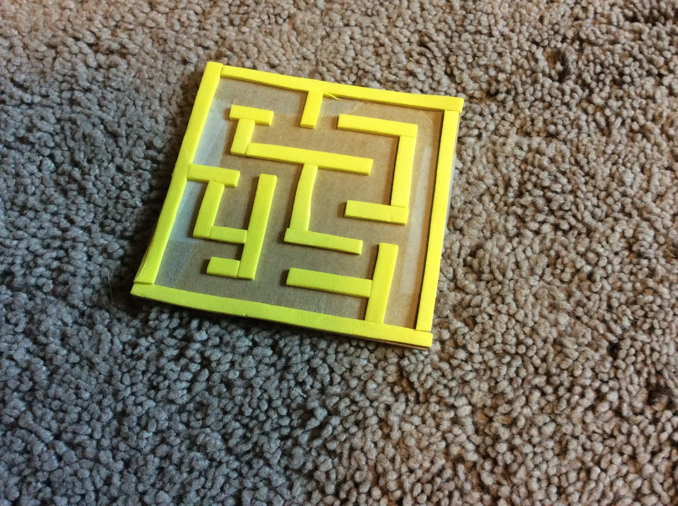 The Maze and Final Adjustments
