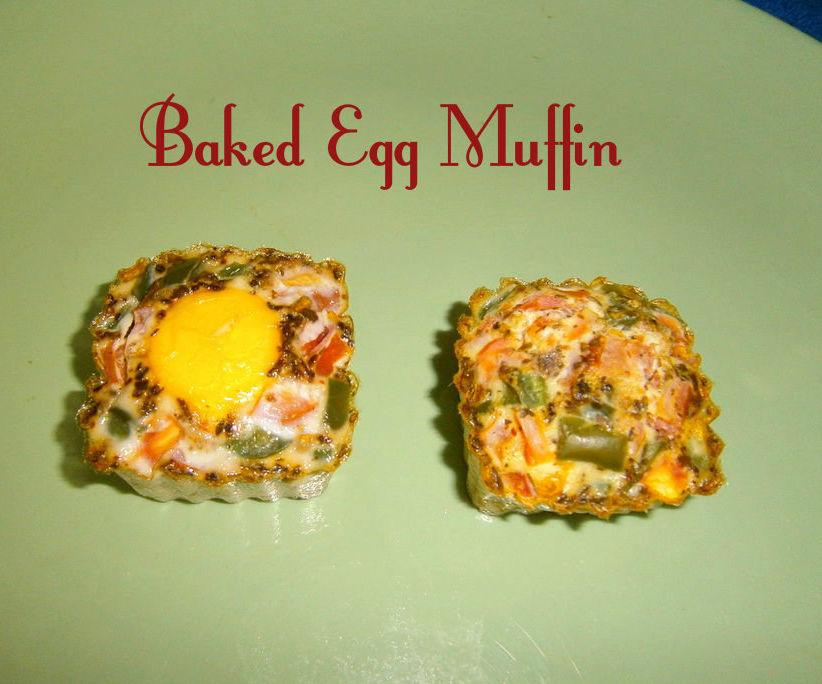 Baked Egg Muffins (2 Variations)
