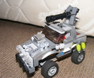 LEGO Halo Warthog (ish) Armoured Car With Suspension