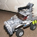LEGO Halo Warthog (ish) Armoured Car With Suspension
