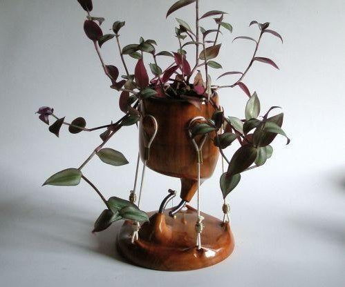 """Remix """"Tensegrity"""" """"Floating Table"""" As a Planter"""