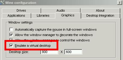 Enable Virtual Desktop Function