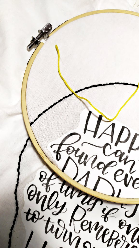Continue Embroidering the Sparks