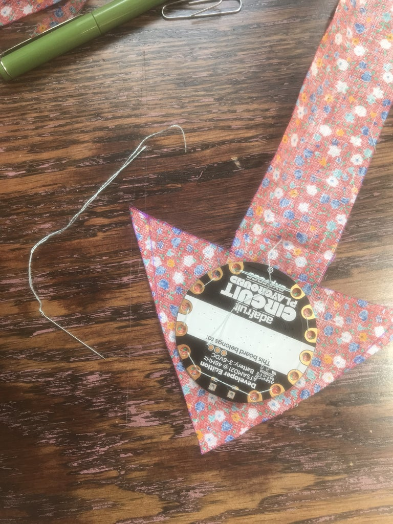 Sewing Your CPE to Your Arrow