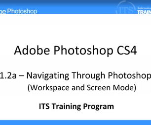 Navigating Through Photoshop: Adobe Photoshop (1.2)