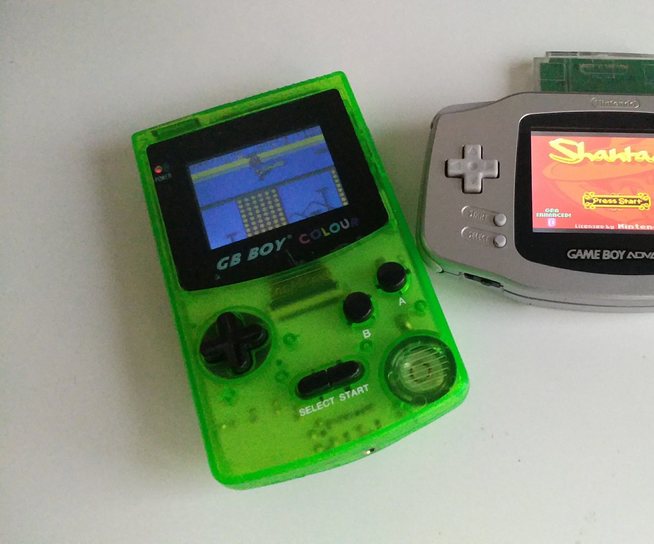 Gameboy Advance Backlight LCD Screen