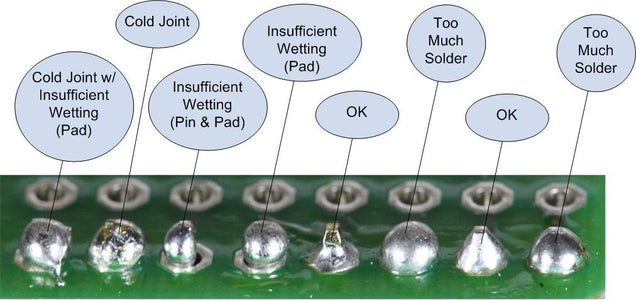 Soldering Electronic Connections