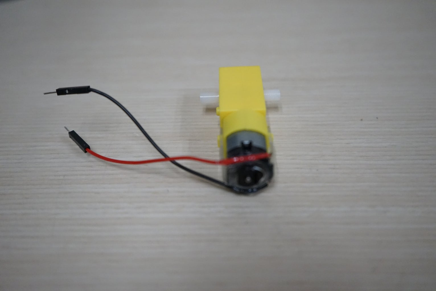 Wiring the Motors Without Solder